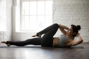 Fitnessübungen für den Bauch nach der Schwangerschaft